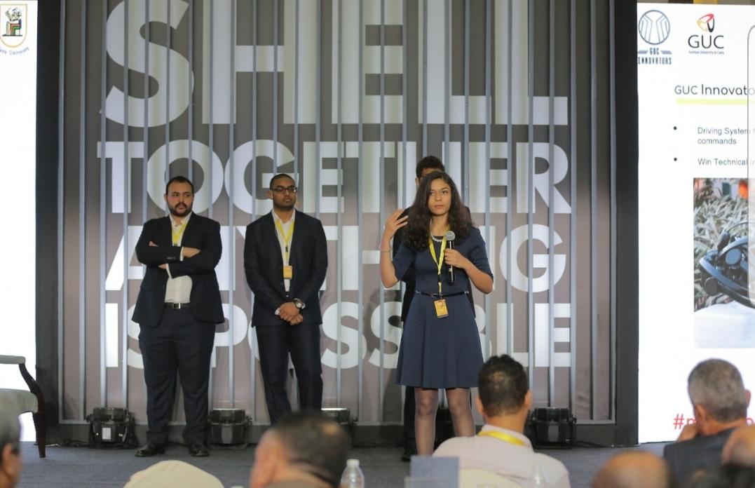 شباب مارثون شل البيئي ومسابقة تخيل المستقبل يستعرضان حلول مبتكرة  لمستقبل التنقل خلال  مؤتمر شل للريادة التكنولوجية