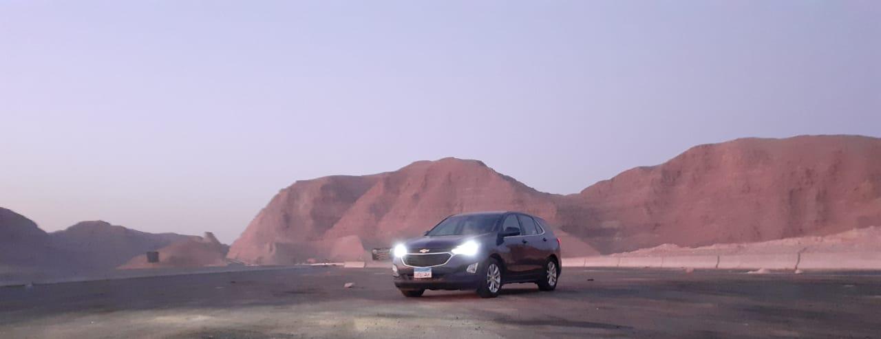 اوتوموبيل تقوم بأختبار قيادة مميز للسيارة ايكونوكس من شيفورلية من خلال وكيلها  فى مصر المنصور للسيارات