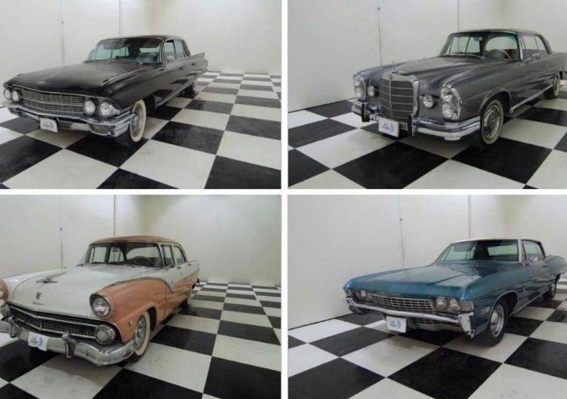 اول مزاد سعودى للسيارات التاريخية القديمة على منصة زايد الإلكترونية