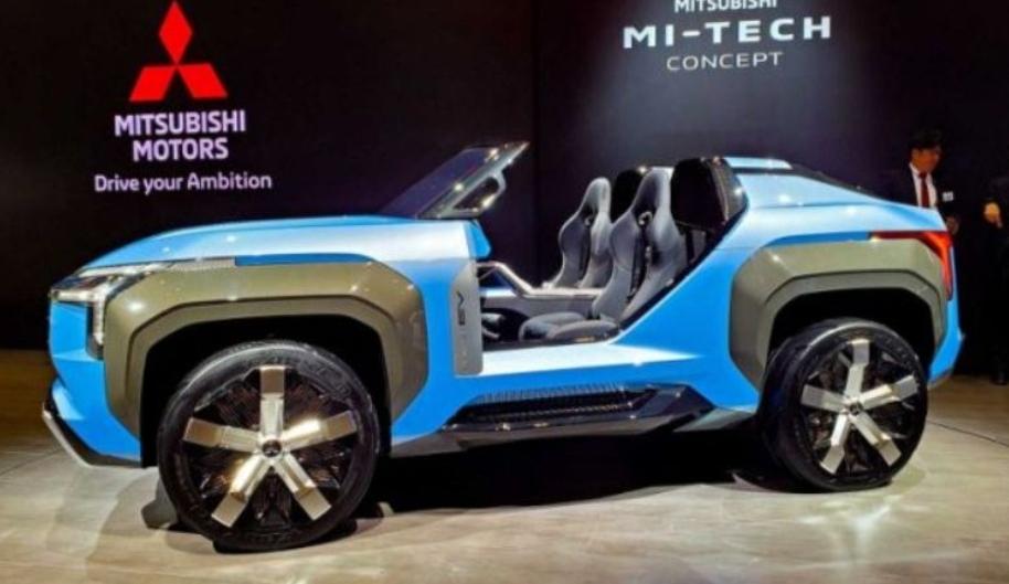 ميتسوبيشي Mi-Tech الاختبارية تنكشف كسيارة SUV بدون سقف ولا أبواب