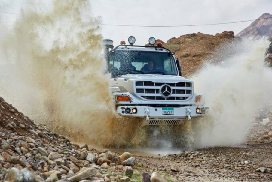 شاحنات مرسيدس تطلق الجيل الجديد من شاحنة (زيتروس)بالأسواق العالمية