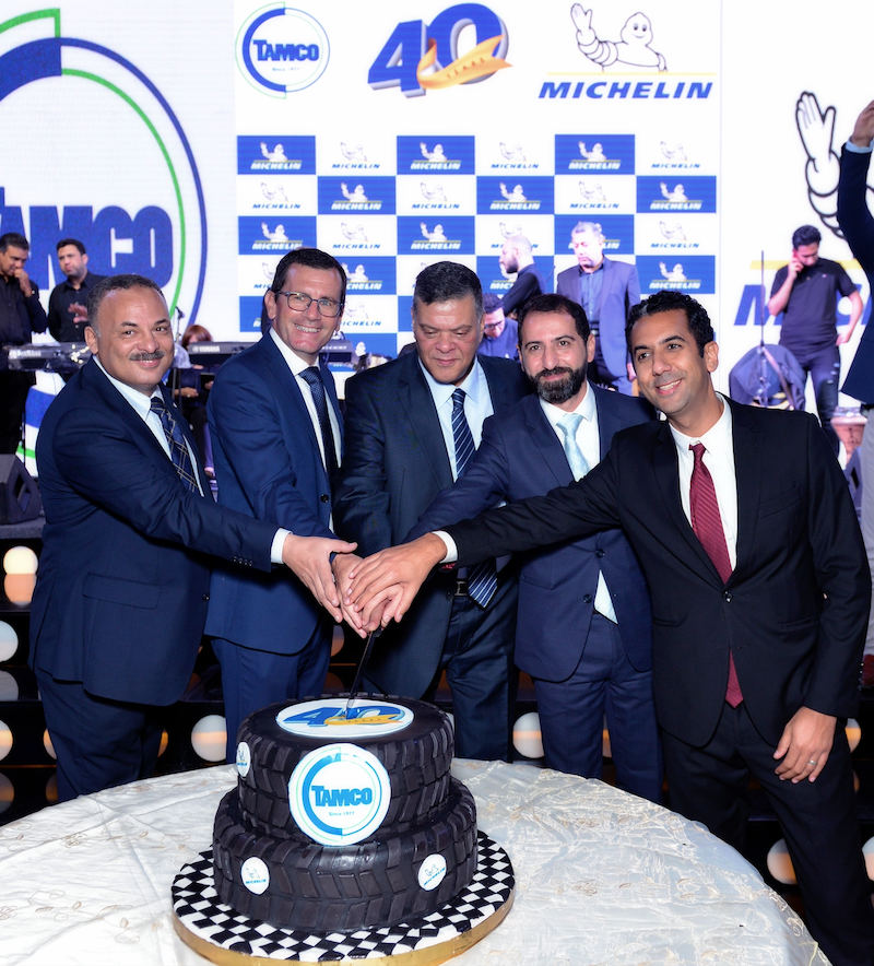 MICHELIN AND TAMCO: TRADING AND DISTRIBUTION AND CELEBRATE 40 YEAR PARTNERSHIP IN EGYPT