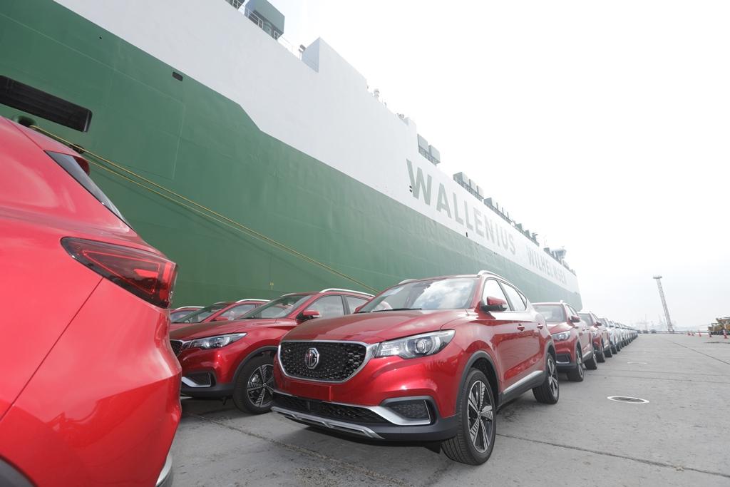 السيارات الكهربائية الصينية تغزو الاسواق الاوروبية على يد MG بسياراتها MGZSEV