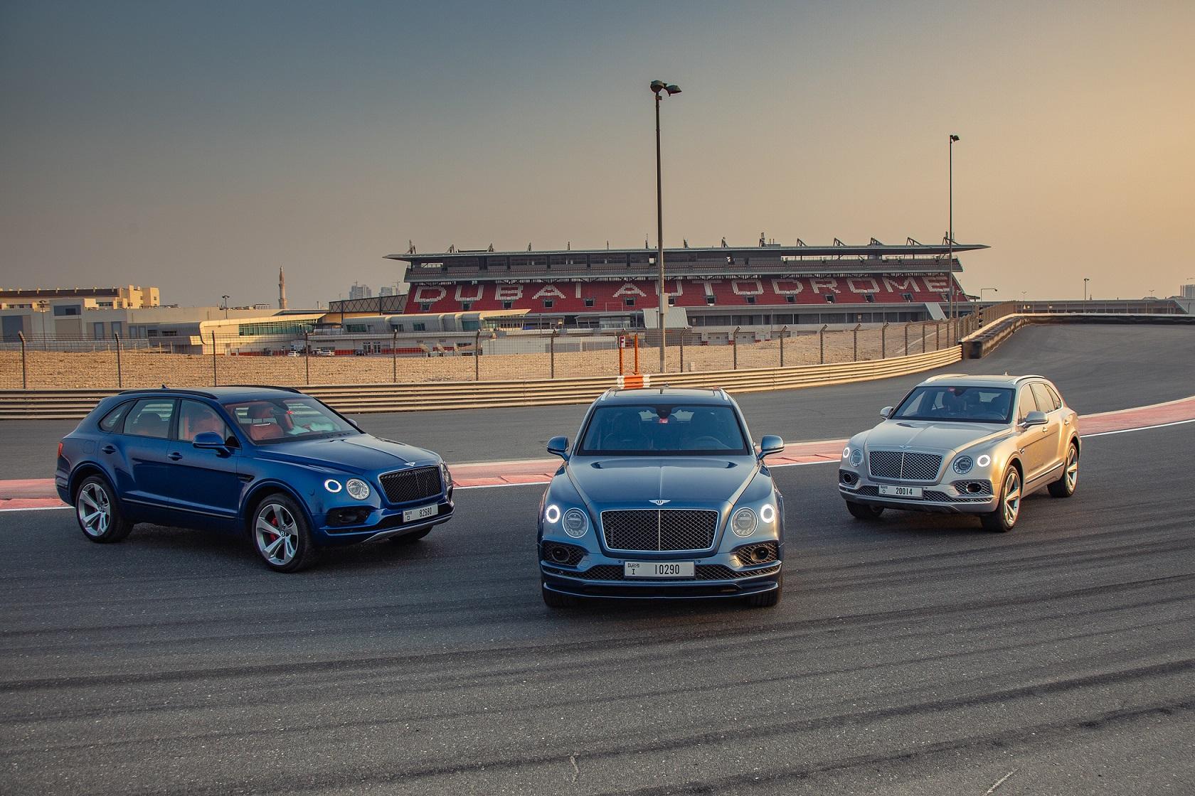 BENTLEY تحتفل بنتائج مبيعات قياسية لطراز BENTAYGA في الشرق الأوسط تزامناً مع الإطلاق الإقليمي لأسرع مركبة SUV في العالم